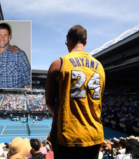 Dood Bryant legt klamme deken over Australian Open: 'Mijn hart huilt'