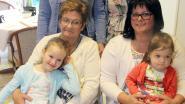 Elise en Fay zorgen voor dubbel viergeslacht in de familie