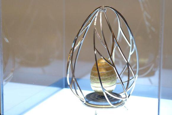 Het gouden ei ter waarde van 210.000 euro.