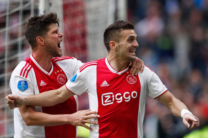 Klaas Jan Huntelaar en Dusan Tadic