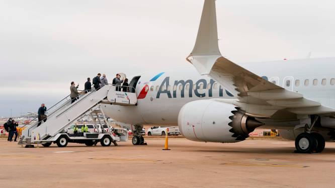 Eerste commerciële vlucht van Boeing 737 MAX in VS sinds 2019
