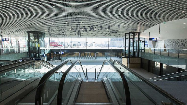 Station Delft. Beeld anp