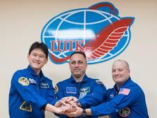Japanse astronaut groeit 9 centimeter in 3 weken