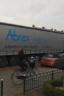 Verbod op vrachtwagens in Buys Ballotstraat in Goes eindelijk ingegaan