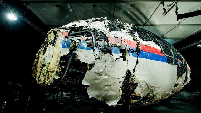 Resten van vlucht MH17. Beeld anp