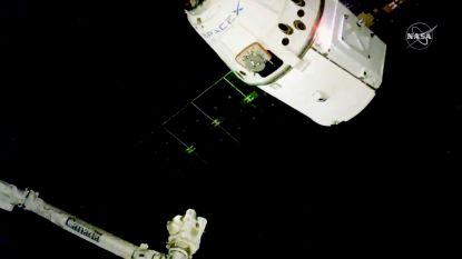 Onbemande Amerikaanse cargo succesvol vastgemaakt aan ruimtestation ISS