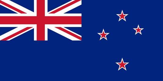 De huidige vlag.