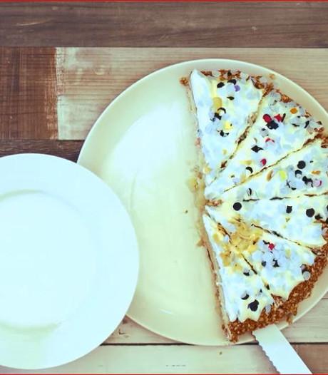 Zo snijd je een taart in gelijke stukken