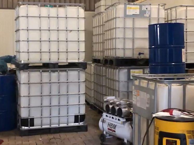 Grootste cocaïnewasserij ooit in Nederland ontmanteld in Nijeveen