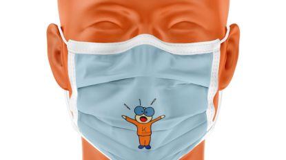 Gratis herbruikbaar mondmasker voor elke inwoner en het gemeentepersoneel