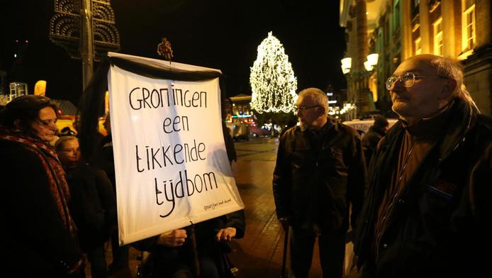 Protest in de stad