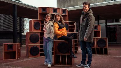 Eva De Roo, Joris Brys en Fien Germijns draaien plaatjes voor De Warmste Week
