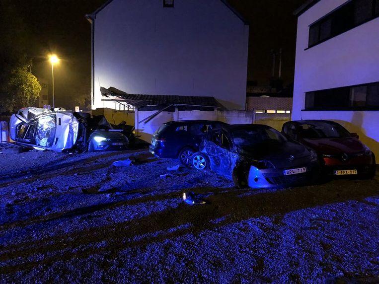 De schade bij het ongeval op 7 september was toen gigantisch.
