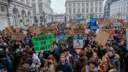 Klimaatbetogers palmen donderdag Markt in