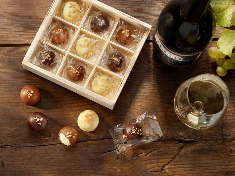 Chocolatier Ovidias brengt de Chardonnay Sublime op de markt. Het gaat om een praline die speciaal naar aanleiding van het 40-jarig bestaan van de chocolatier werd gemaakt.