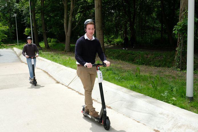 Drie Eiken Is Eerste Universiteitscampus Van Europa Met Elektrische Deelsteps Antwerpen Hln Be
