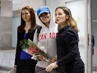Saudische asielzoekster die vluchtte voor haar familie aangekomen in Canada