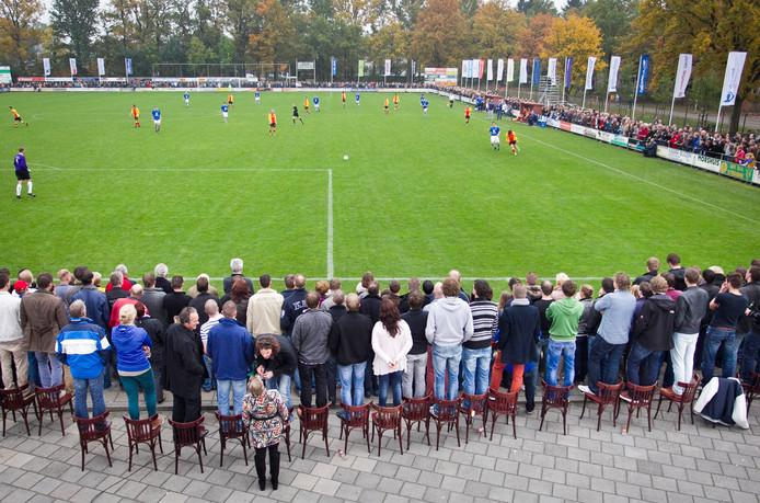 Meteen na de winterstop: TVC'28 - Stevo. Ongetwijfeld komen er weer heel veel toeschouwers af op de derby in de eerste klasse.