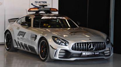Aanschouw: de nieuwste safety car die straks aan 318 km/u over de F1-circuits scheurt