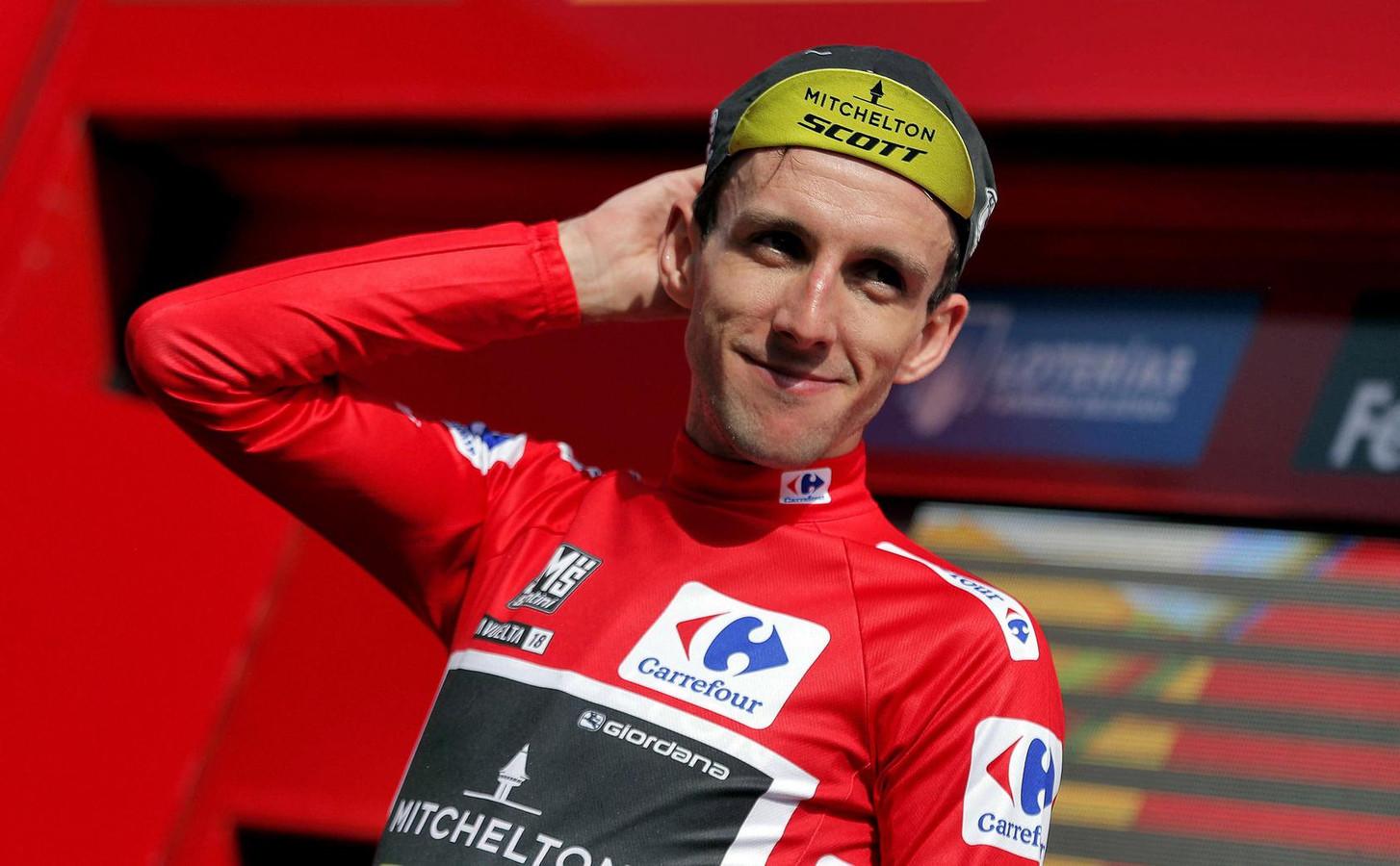 Simon Yates heeft de rode trui weer terug.