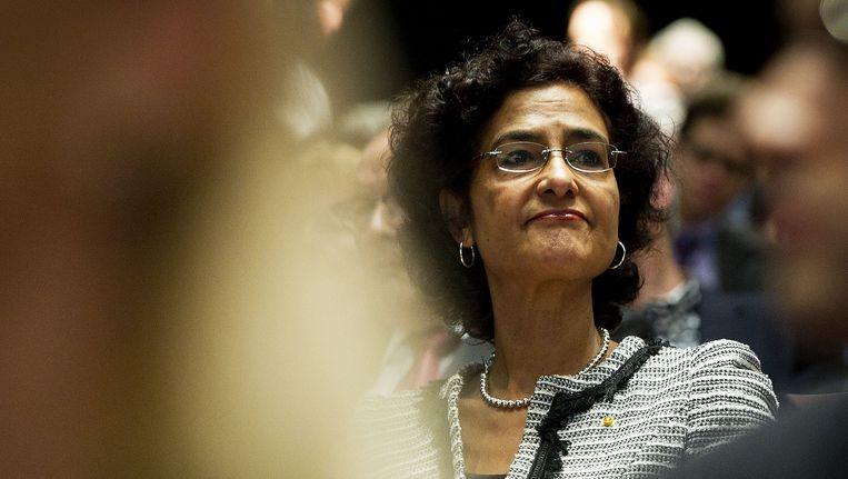 CDA-Kamerlid Kathleen Ferrier is niet verkiesbaar tijdens de verkiezingen in september Beeld ANP
