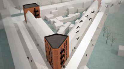 Woningen voor mensen met zorg in drie vervallen hoekpanden
