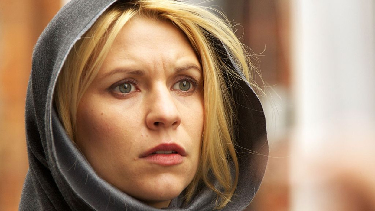 Claire Danes in 'Homeland' Beeld Showtime