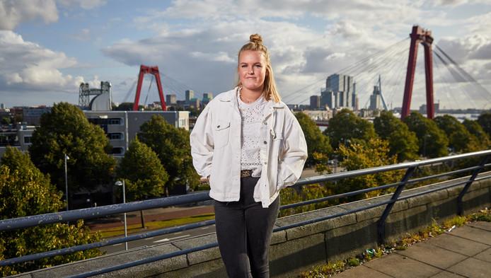 Lauren van Drimmelen: ,,Ik zou wel willen bijdragen aan de ontwikkeling van het onderwijs in een multiculturele samenleving, zoals Rotterdam.''