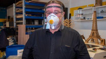 """Scheppersinstituut maakt 9.000 extra beschermende maskers voor zorgverleners: """"Extra folie is altijd welkom"""""""