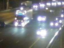 A15 uur weer open na afsluiting vanwege ongeluk met drie voertuigen