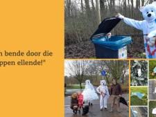 Zwerfie ingezet in strijd tegen mondkapjes op straat in Schiedam