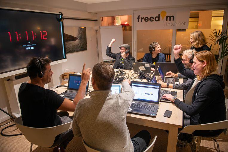 De livegang van Freedom Internet Beeld Freedom Internet