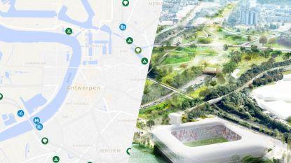 IN KAART. Deze 18 projecten van 1,25 miljard euro moeten de Antwerpse ring weer leefbaar maken