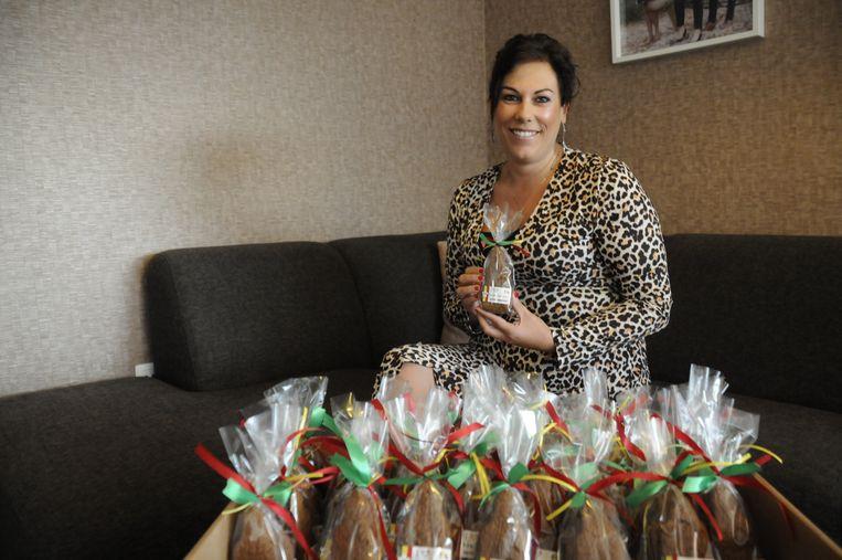 Kelly Vanbrabant start speculaasverkoop ten voordele van Een Hart voor Senegal