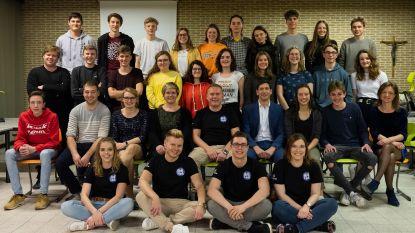 Leerlingen Sint-Janscollege geven succesvolle lesmarathon voor vzw Viva La Fiesta