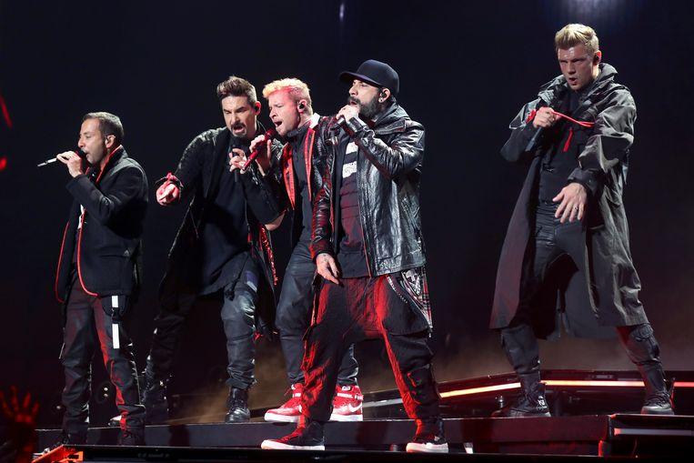 De Backstreet Boys stonden gisteren in het Sportpaleis.