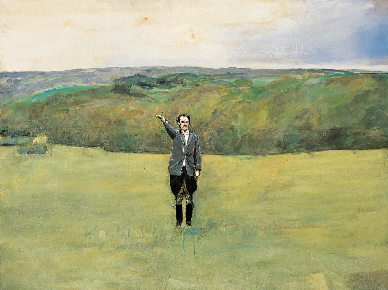 Anselm Kiefer. Heroisches Sinnbild VII, 1970.