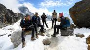 Dag 10 van expeditie Belgian Tornados: vroeg uit de veren voor een tocht op 5.000 meter hoogte door de sneeuw