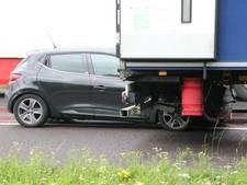 File op A1 richting Holten door ongeluk
