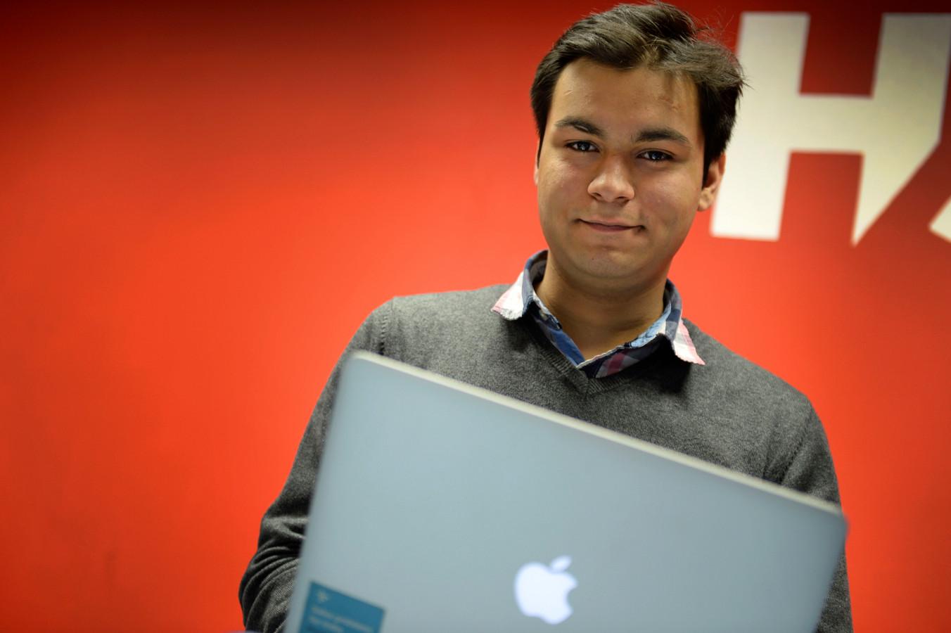 UT-student Anand Chowdhary is opgenomen in de lijst met 30 veelbelovende jonge ondernemers uit Azië.