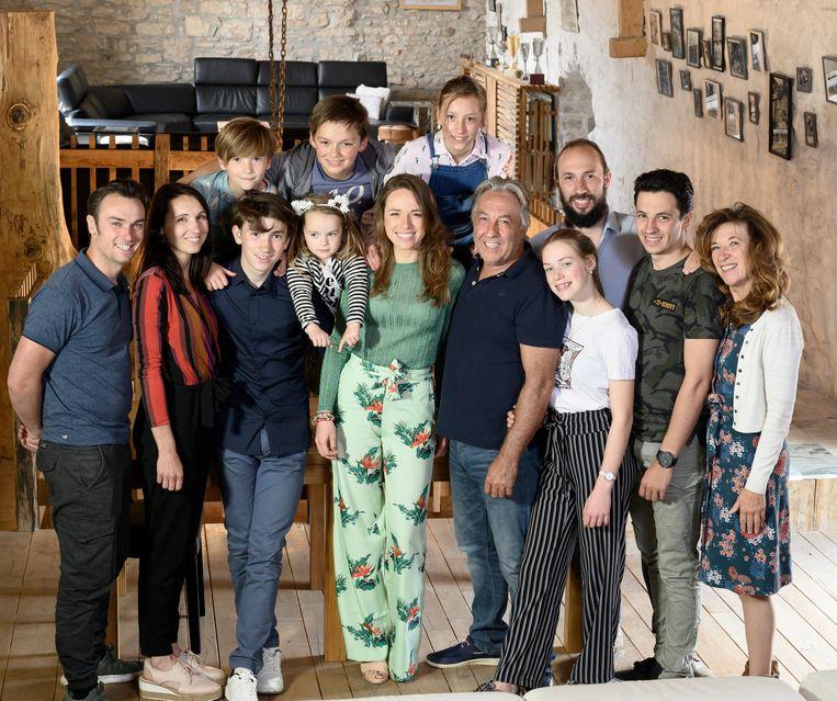 De voltallige familie Planckaert