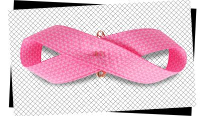 Pink Ribbon strikt Coralie Barbier voor het nieuwe roze lintje