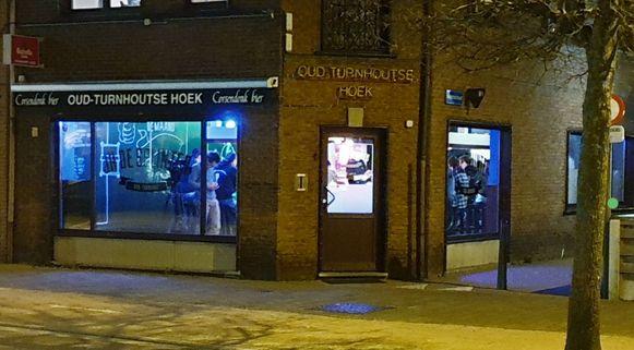 JH De Splinter opende in het voormalige café 'Oud-Turnhoutse Hoek'