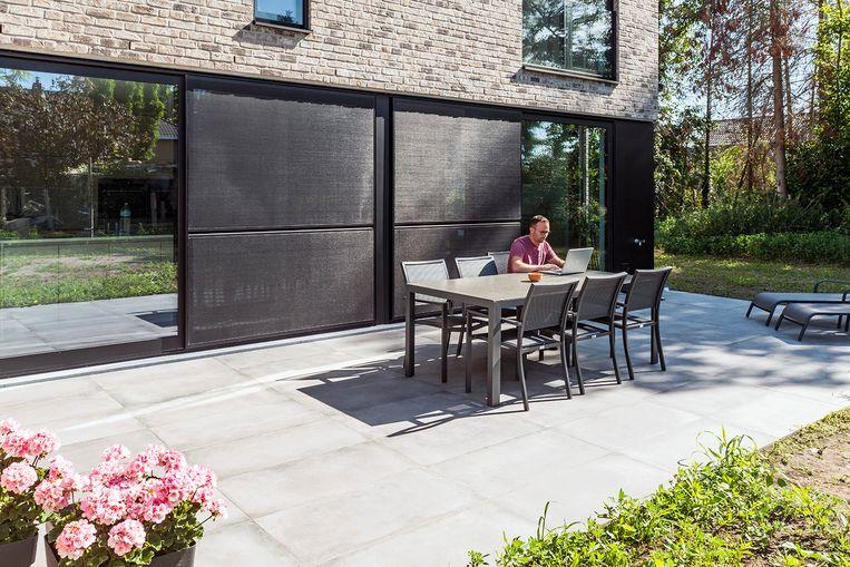 Terras Keramische Tegels.Gepolierd Beton Of Keramische Tegels Alle Voor En Nadelen