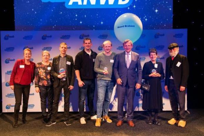 De winnaars van de ANWB-verkiezing.