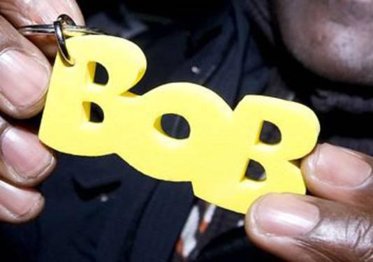 Een Bob-sleutelhanger.