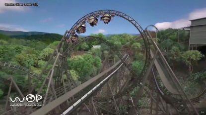 Eerste beelden van spectaculairste rollercoaster van Europa: attractie van 15 miljoen euro opent in 2021 in Plopsaland