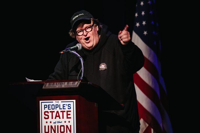 Filmmaker Michael Moore komt met documentaire over Trump.