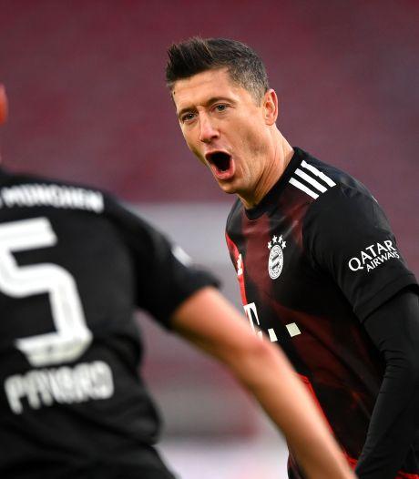 Koploper Bayern loopt uit op falend Dortmund, goal Dost niet genoeg voor zege Frankfurt