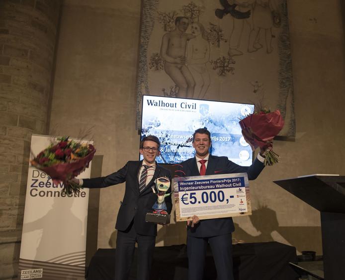 Walhout Civil won vorig jaar de Zeeuwse Pioniersprijs.